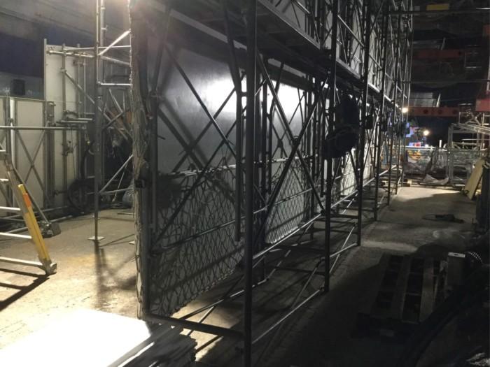 2018年4月足場工事せり上げ(千葉)